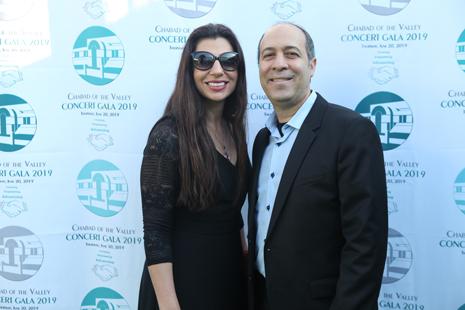 Daniel Aharonoff at Chabad Charity Event